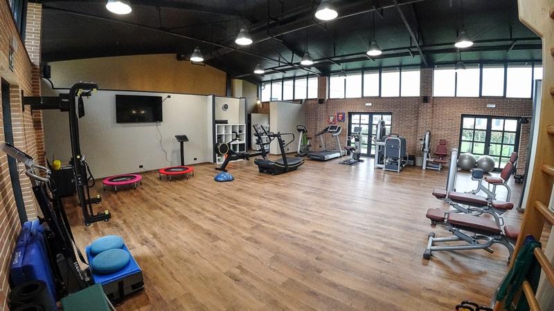 Area dedicata a corsi di Functional training