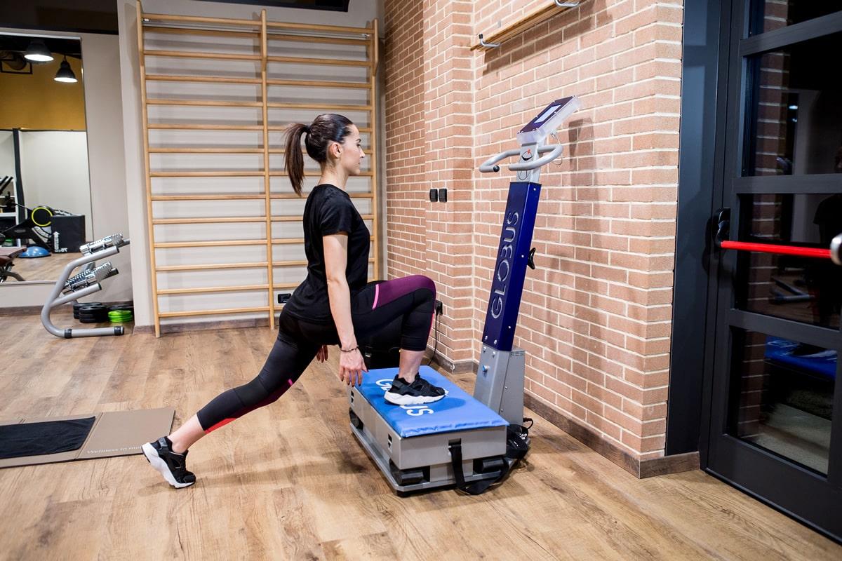 Esercizio per perdita di peso: PEDANA VIBRANTE