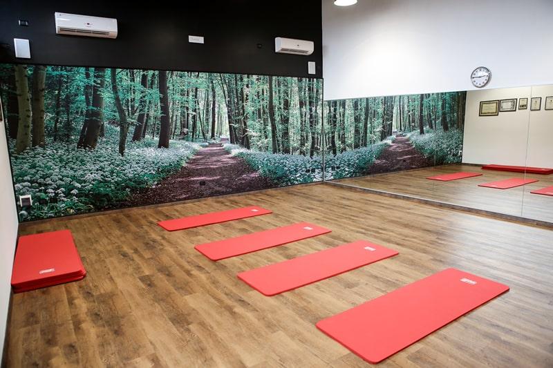 Sala pilates e ginnastica posturale