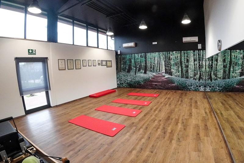 Sala per ginnastica posturale